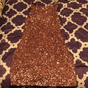 Pink Sequin dress